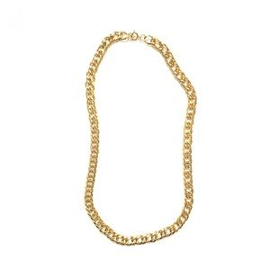 Jewelry - Gold thick & chunky chain necklace
